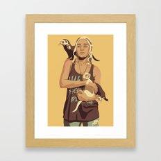 80/90s - Dae T. Framed Art Print