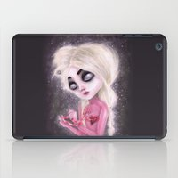 lost forever in a dark space iPad Case