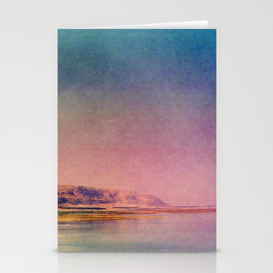 Dreamy Dead Sea IV Stationery Card