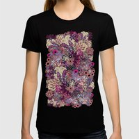 Vernal rising Womens Fitted Tee Black SMALL
