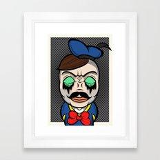 Donald Boy Framed Art Print