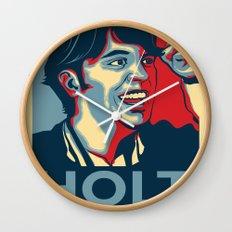 Steve Holt! Wall Clock