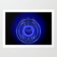 Blue Lantern Corp (Hope) Art Print