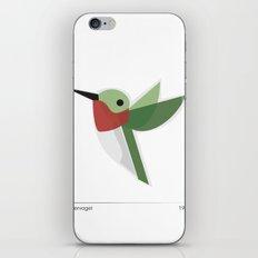 Muttervogel iPhone & iPod Skin