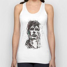 Staggered Unisex Tank Top
