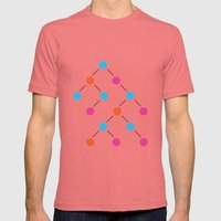 Binary Search Tree | Comp Sci Series Mens Fitted Tee Pomegranate SMALL