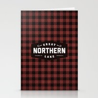 Great Northern Lake Stationery Cards