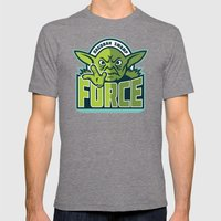 Dagobah Swamp Force - Teal Mens Fitted Tee Tri-Grey SMALL