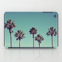 California Palm Trees iPad Case
