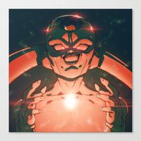 Frieza Canvas Print