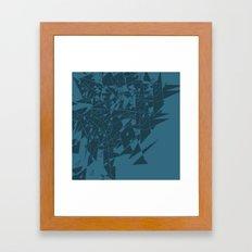 Glass BG Framed Art Print