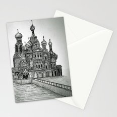 St. Petersburg, Russia Stationery Cards