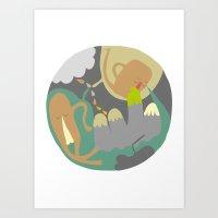 Entanglements 3 Art Print