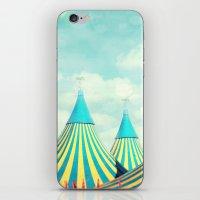 circus tent 2 iPhone & iPod Skin