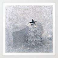 Christmas Tree & Star Art Print