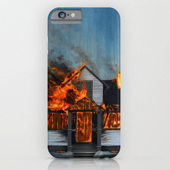House on Fire iPhone & iPod Case