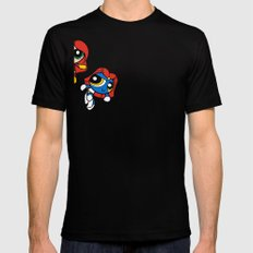 Sisterhood of Evil Puffs Black SMALL Mens Fitted Tee