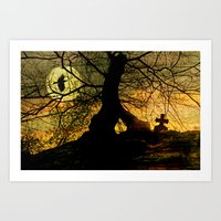 A mysterious place Art Print