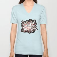 Mind bending Splat Unisex V-Neck