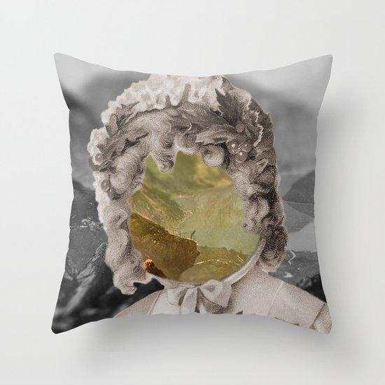 Vivid memory Throw Pillow