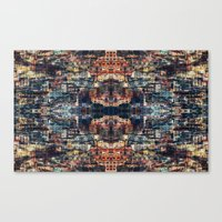 UNTITLED ⁜ ALIGNED #0413 Canvas Print