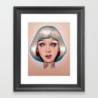 Orion Is Bleeding Framed Art Print