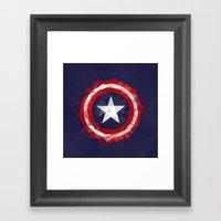 Meduzzle: Capitan's Amer… Framed Art Print