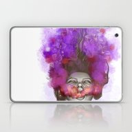 Free Thoughts Colorful P… Laptop & iPad Skin