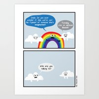 The Rainbow Art Print