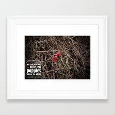 howards end Framed Art Print