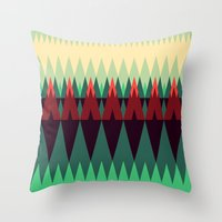 Living In The Summerwood… Throw Pillow