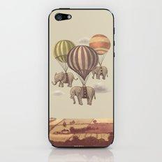 Flight Of The Elephants  iPhone & iPod Skin