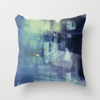 And yet the most ordinary silence reigns in these narrow places Throw Pillow