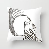 Angel under cover (home photo) Throw Pillow