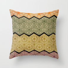 Pattern, Zig, Pattern, Zag, Repeat Throw Pillow