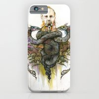 iPhone & iPod Case featuring The Antagonist by Joshua Kulchar