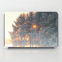 Sunrise In Winter Cloud … iPad Case