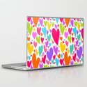 Cute colorful heart Laptop & iPad Skin
