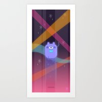 Super Ross! Art Print