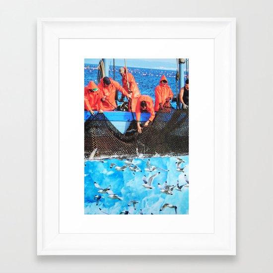 Bird's Lament Framed Art Print