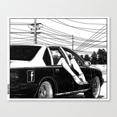 asc 600 - Les lendemains (Tomorrow's Just Another Day) Canvas Print