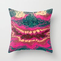 Fisgados Throw Pillow