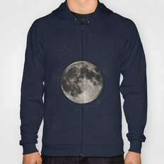 The Moon  [Sans Type] Hoody