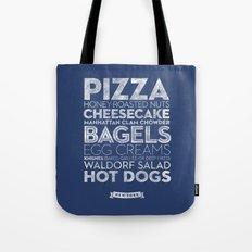New York — Delicious City Prints Tote Bag