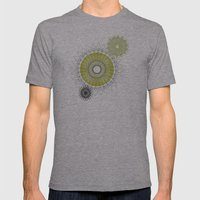 Modern Spiro Art #5 Mens Fitted Tee Athletic Grey SMALL