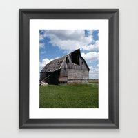 Abandoned Barn #7 Framed Art Print