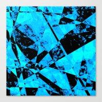 Jagged Edge Canvas Print