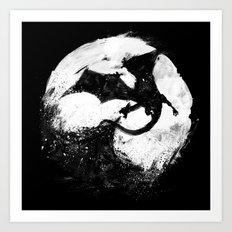 Midnight Desolation Art Print