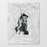 Warp World Canvas Print