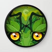 Oolong Wall Clock